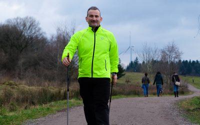 Nordic Walking auf der Landesgartenschau