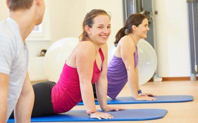 Neuer Kurs: Wirbelsäulengymnastik