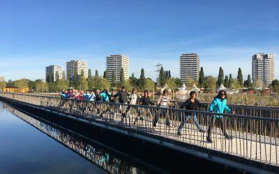 Nordic Walking auf der Landesgartenschau Lahr